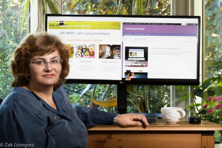 Zoja Żak twórca stron internetowych